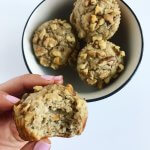 Banana Nut Blender Muffins (GF)