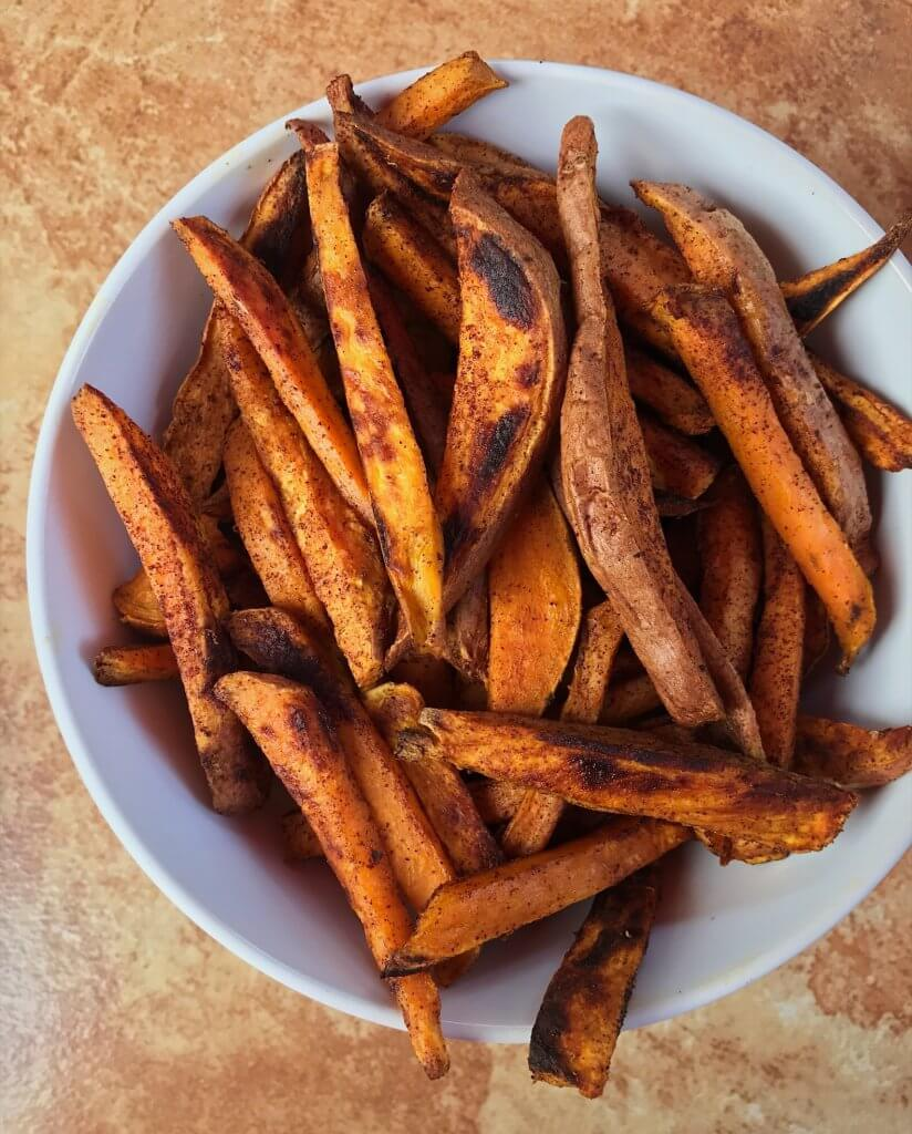 how to cook sweet potatoes, sweet potato fries recipe