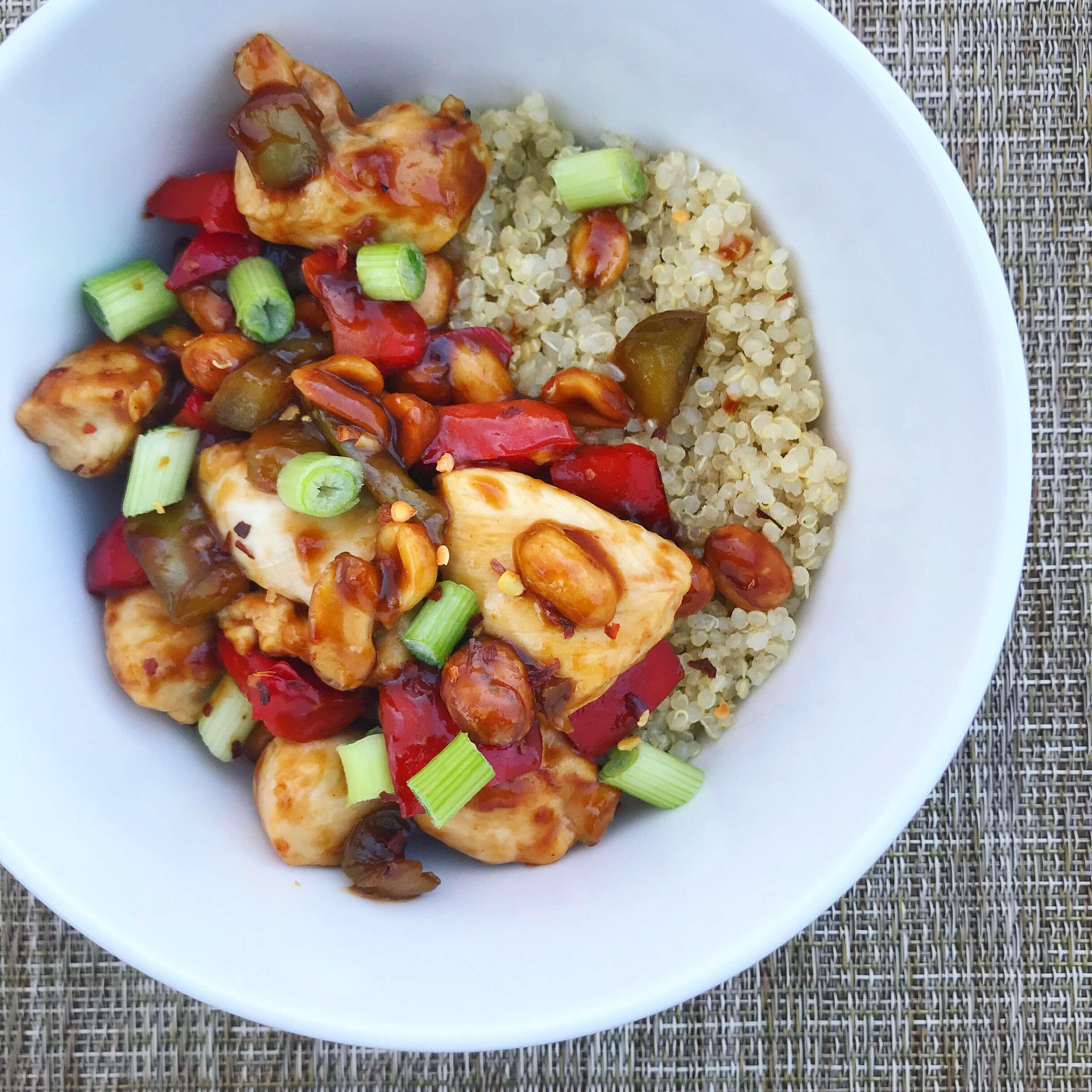 healthy foods dietitians keep in their fridges - quinoa