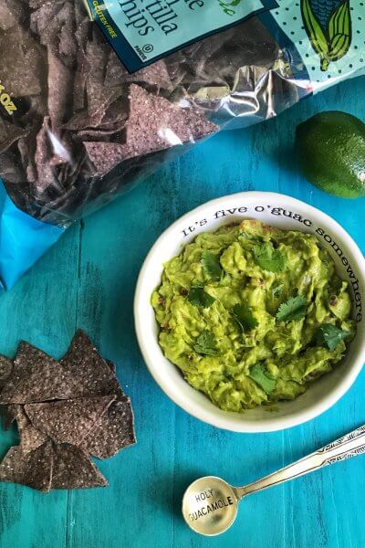 Five-Ingredient Guacamole