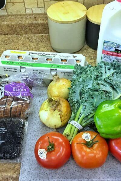 Hen House CSA | Baked Parmesan Kale Chips