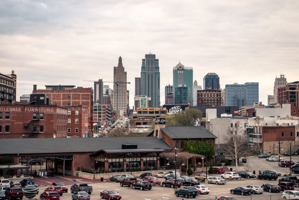 downtown kansas city skyline photo