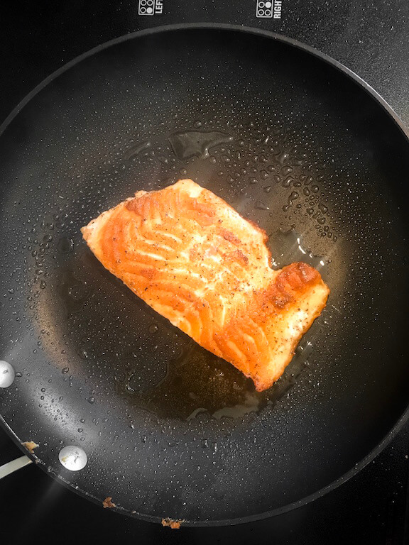 pan seared salmon 2