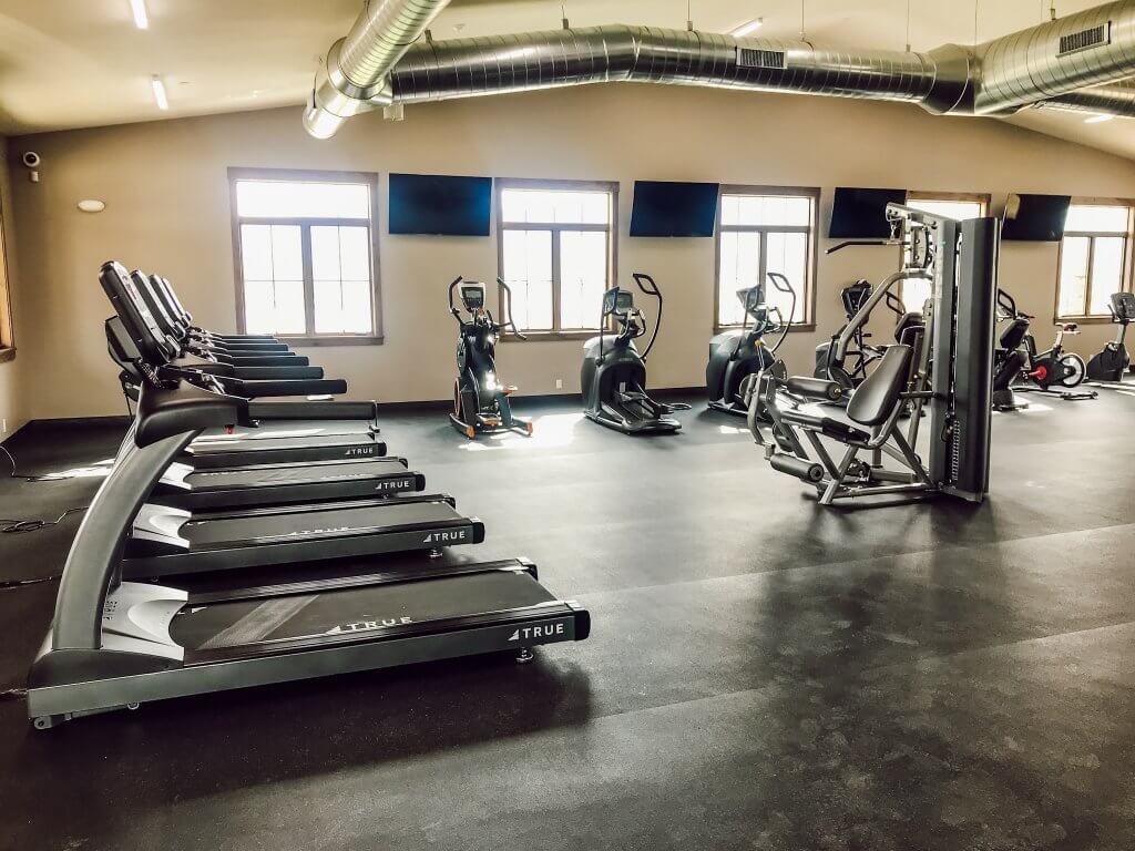 River Run RV Resort Fitness Center / Granby, Colorado