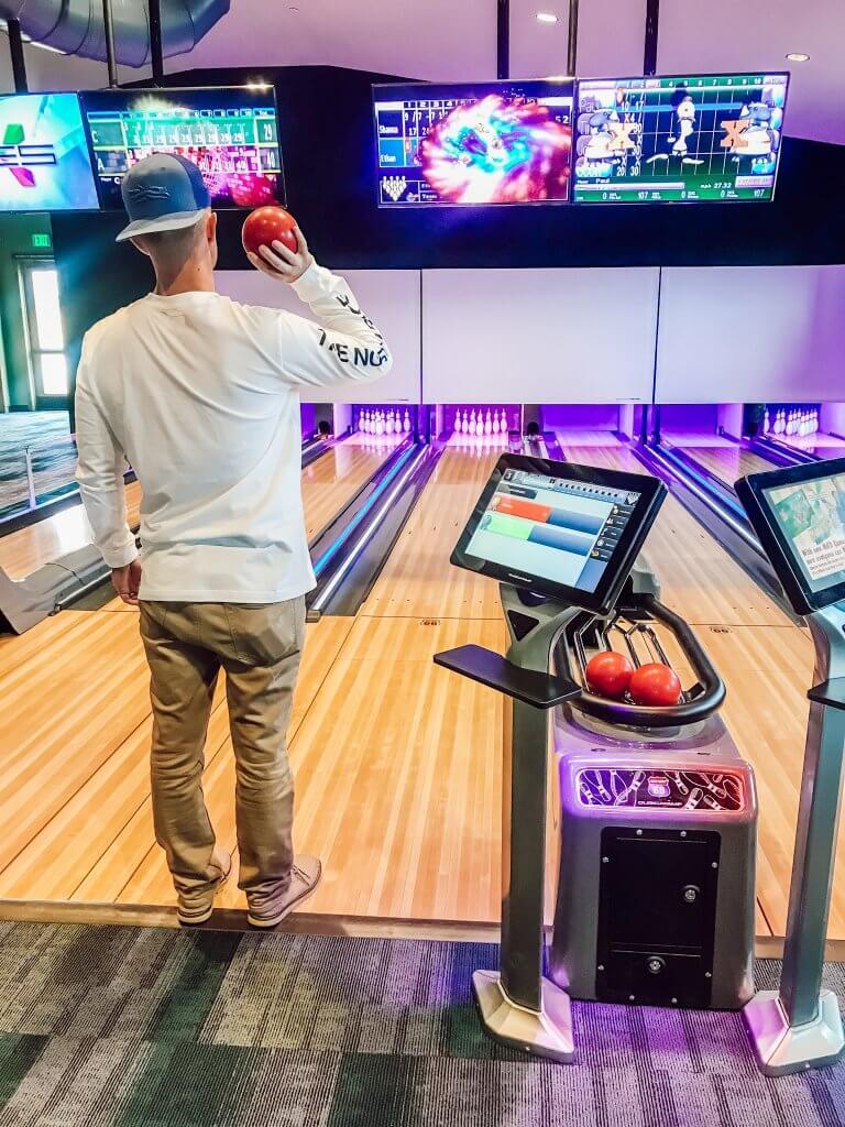 River Run RV Resort Bowling Alley