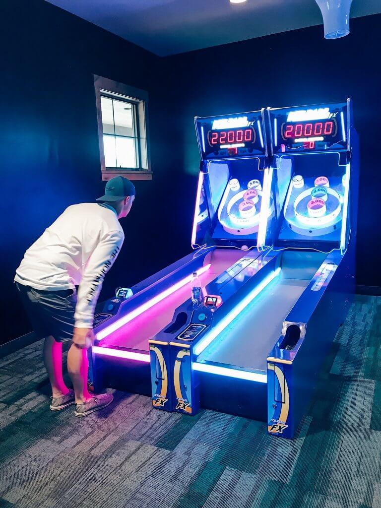River Run RV Resort Arcade Games / Granby, Colorado
