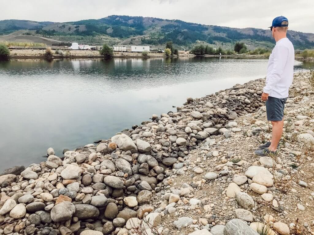 River Run RV Resort Large Pond Fishing Camping / Granby, CO