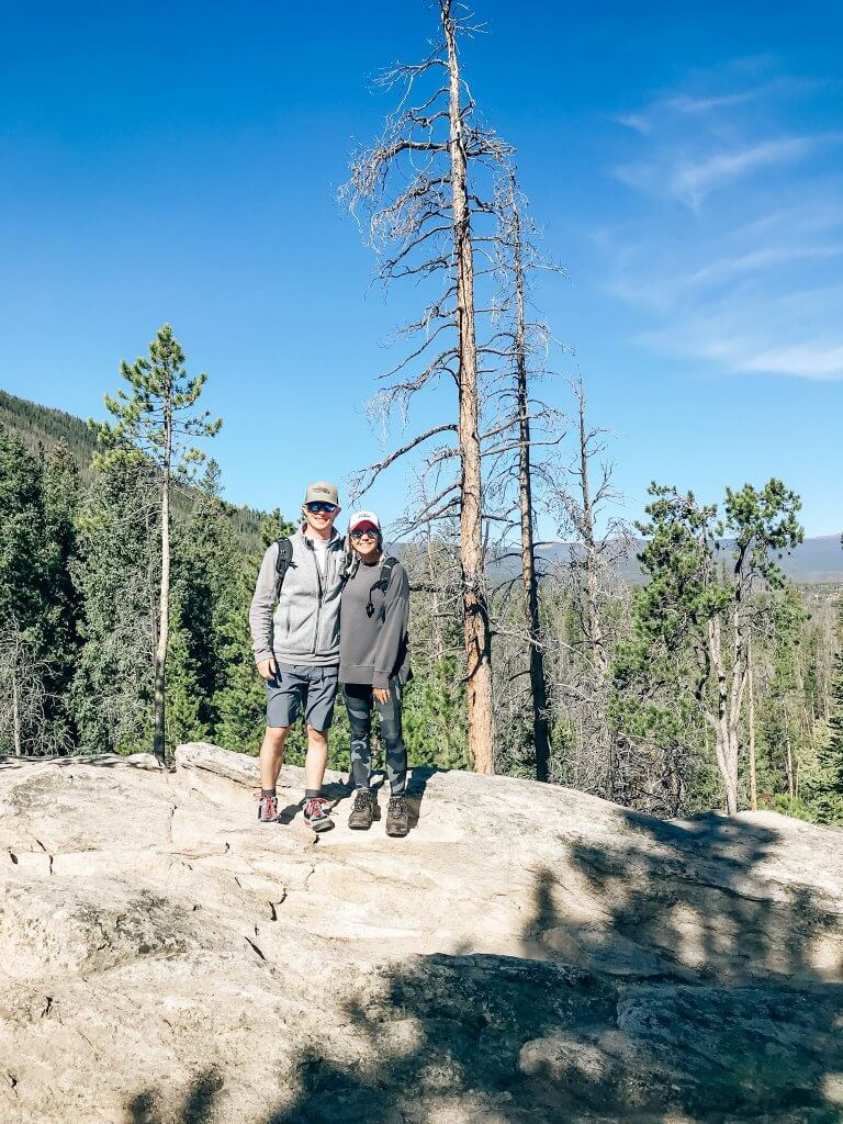 River Run RV Resort Rocky Mountain National Park Hiking / Adams Falls. Granby, Colorado