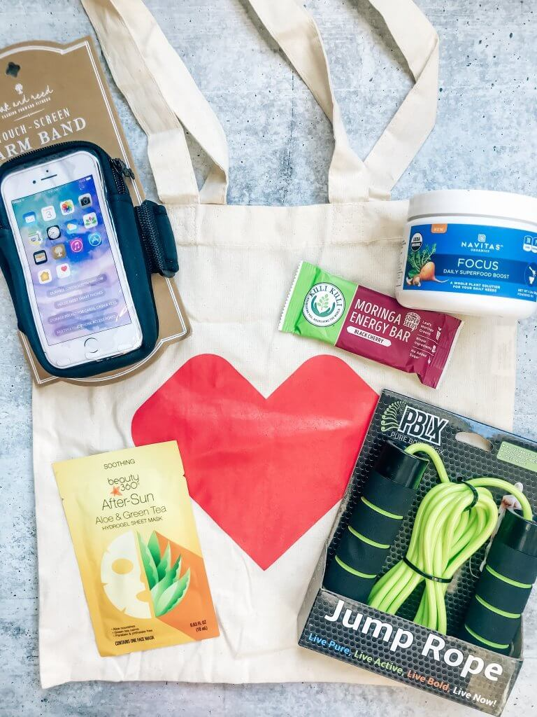 CVS self-care favorites healthy snacks, face masks, exercise equipment