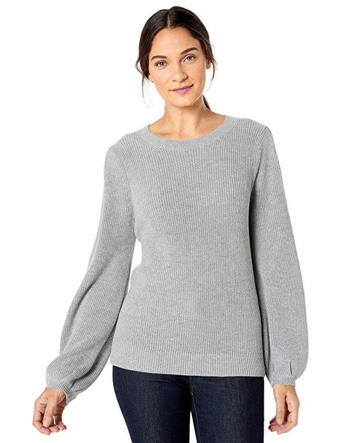amazon fashion work wear. gray sweater, women's fashion, fall looks