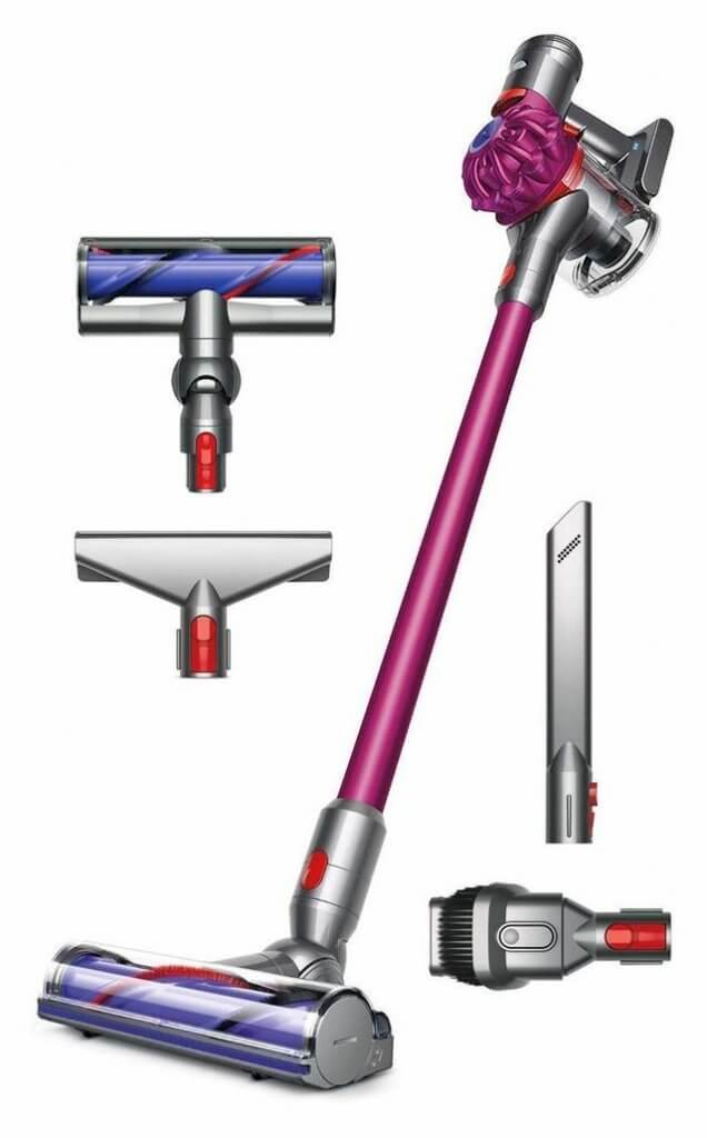 dyson vacuum holiday gift guide for home