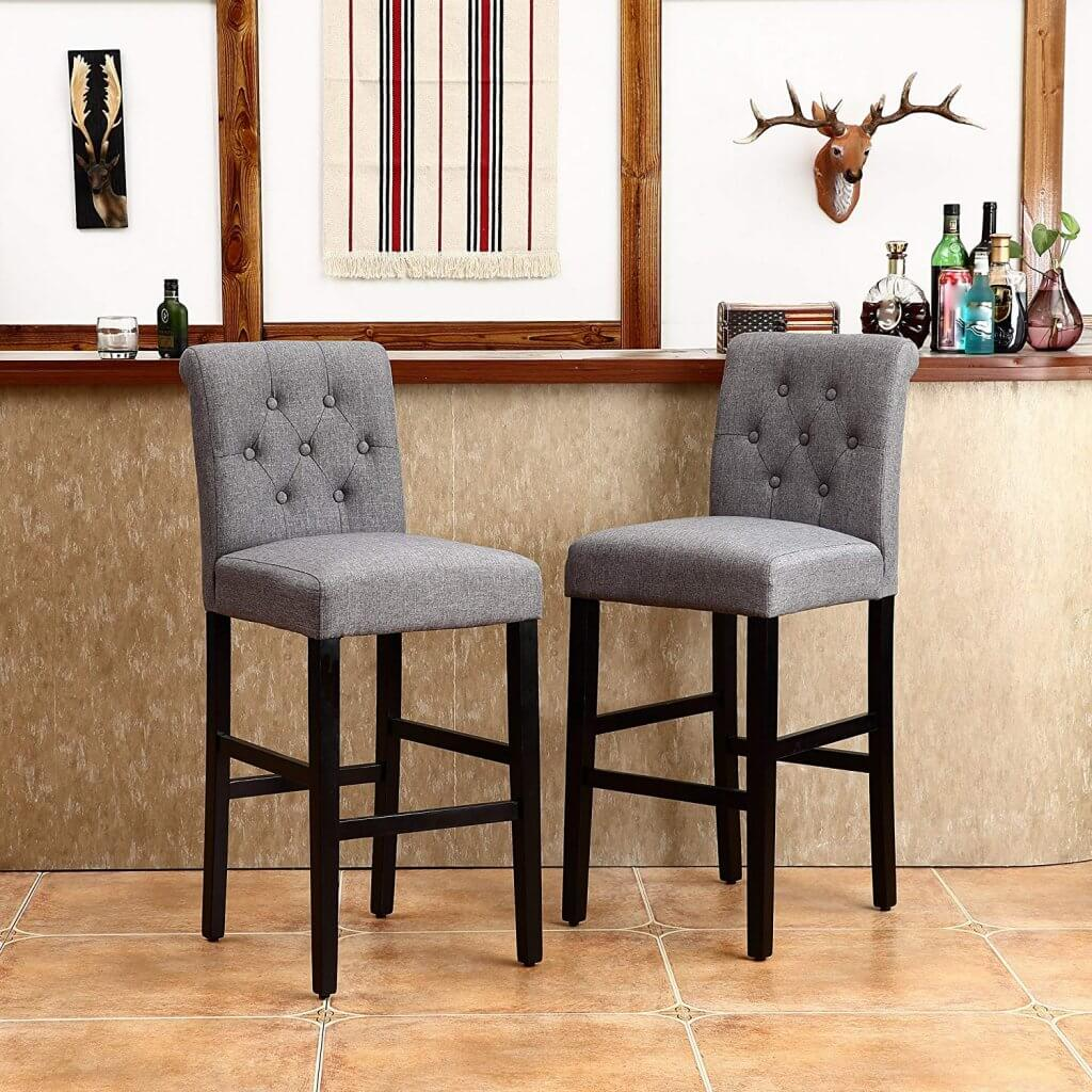 affordable home decor ideas barstools