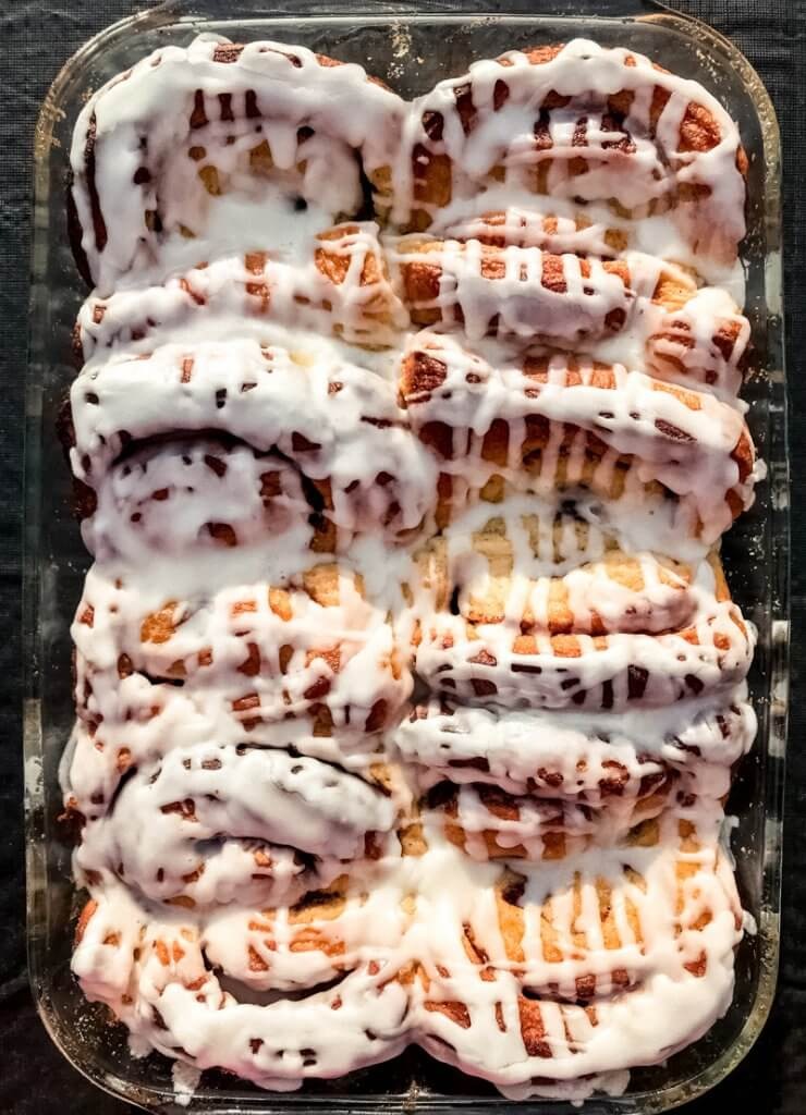 christmas morning easy cinnamon rolls