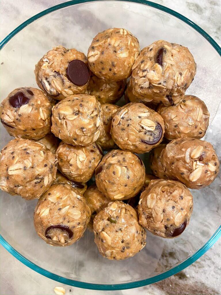 healthy no bake energy bites recipe