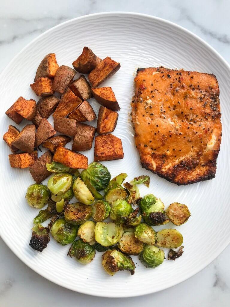 how to cook sweet potatoes, roasted veggies