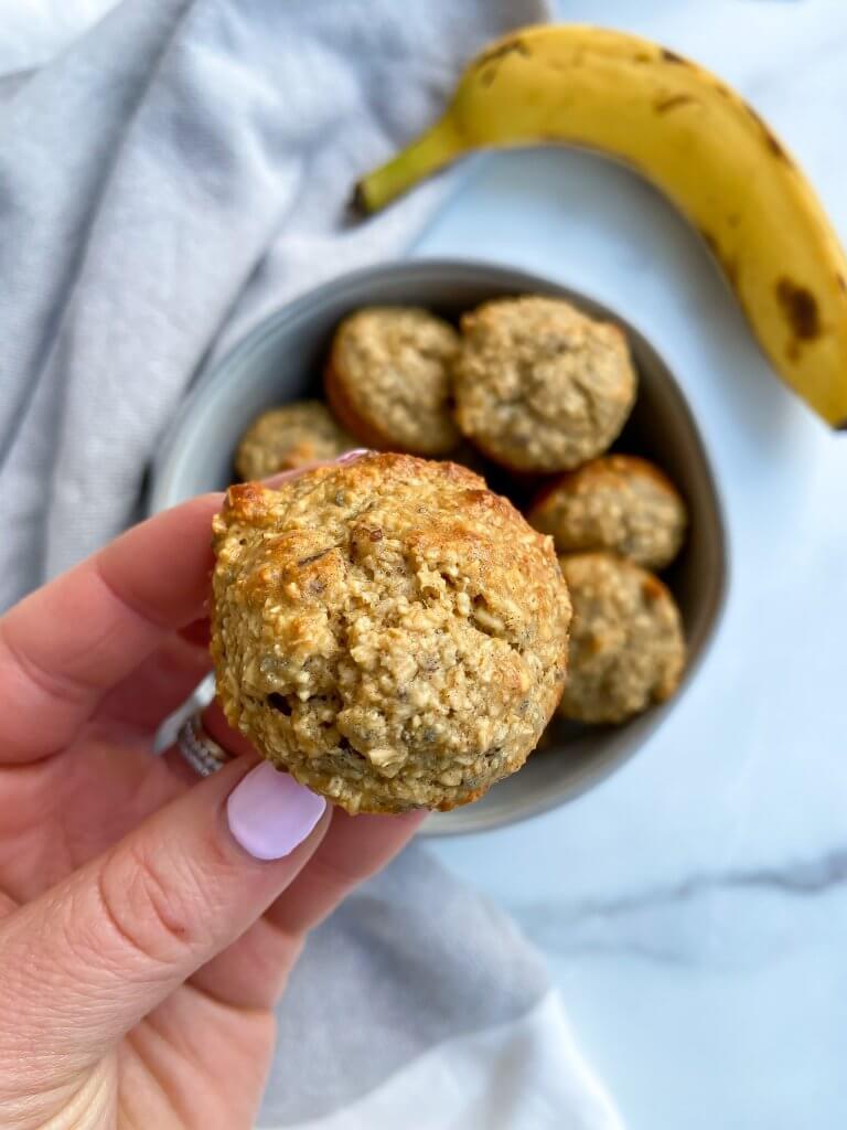 banana nut blender muffins