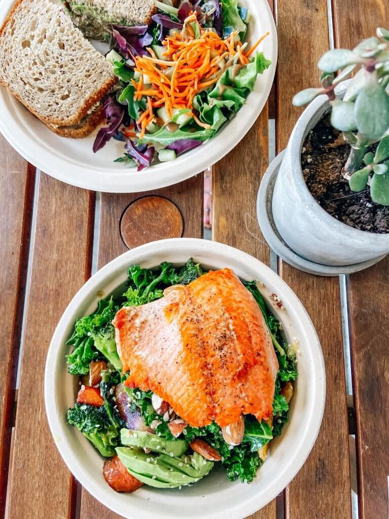 local kansas city businesses, Enjoy Pure Food, healthy restaurant