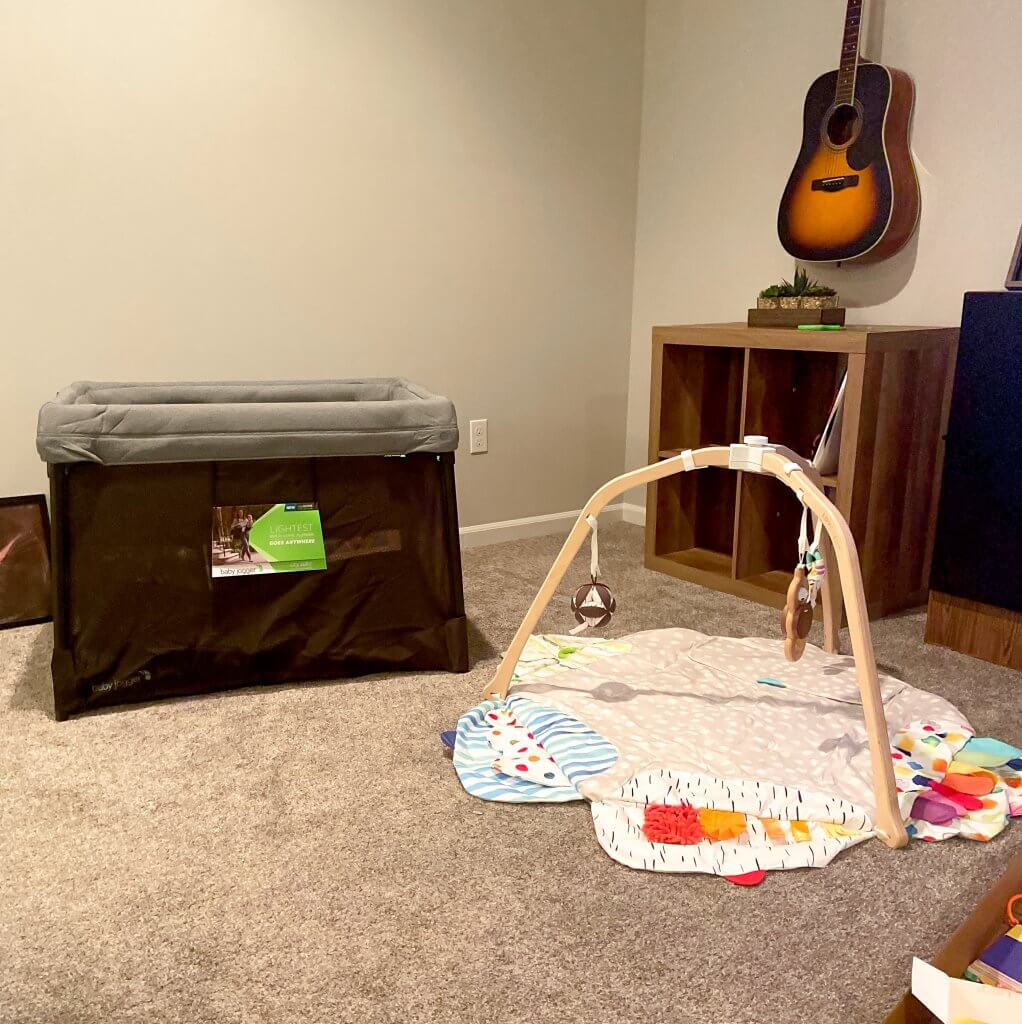 baby registry must haves; playard, pack and play, play gym