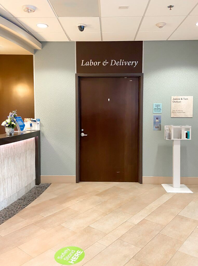 adventhealth shawnee mission birth center labor and delivery entrance