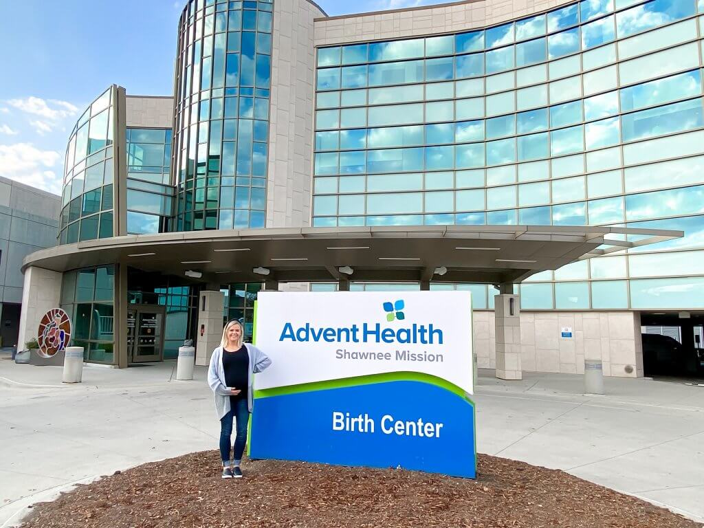 adventhealth shawnee mission birth center entrance