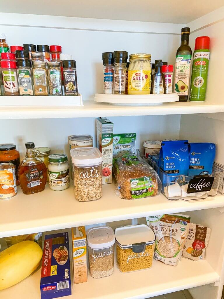 healthy living with ALDI USA; pantry staples, healthy eating