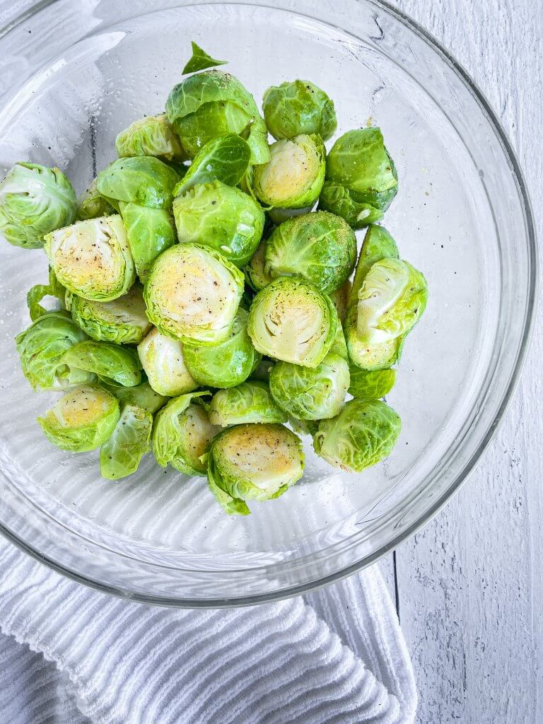 crispy air fryer brussels sprouts