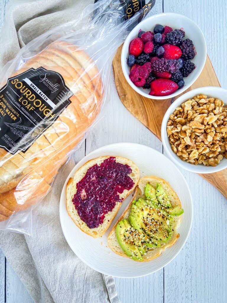 Breakfast/Brunch Inspiration / Sourdough Toast