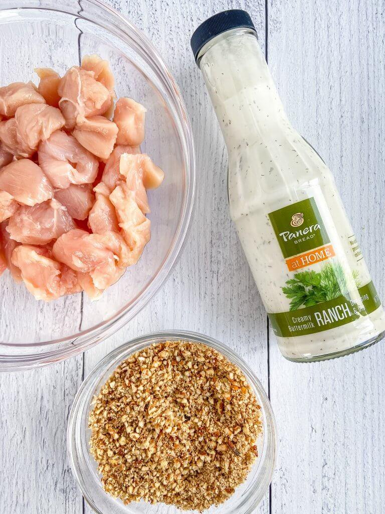 air fryer ranch chicken recipe, ingredients