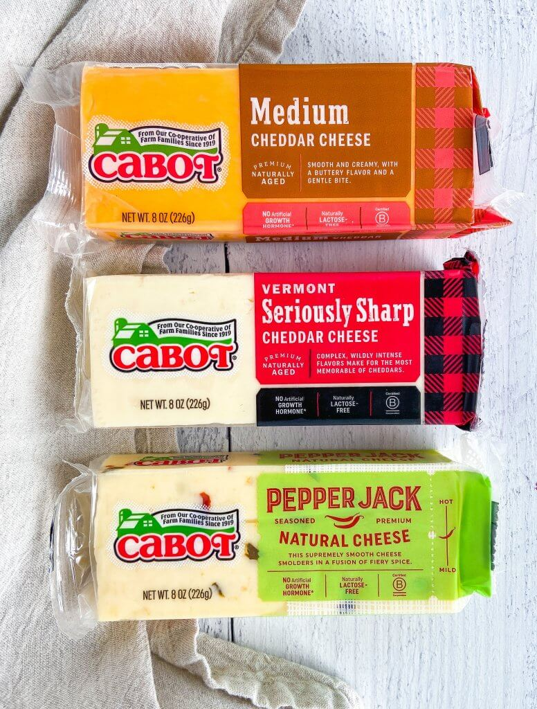 cabot cheese varieties