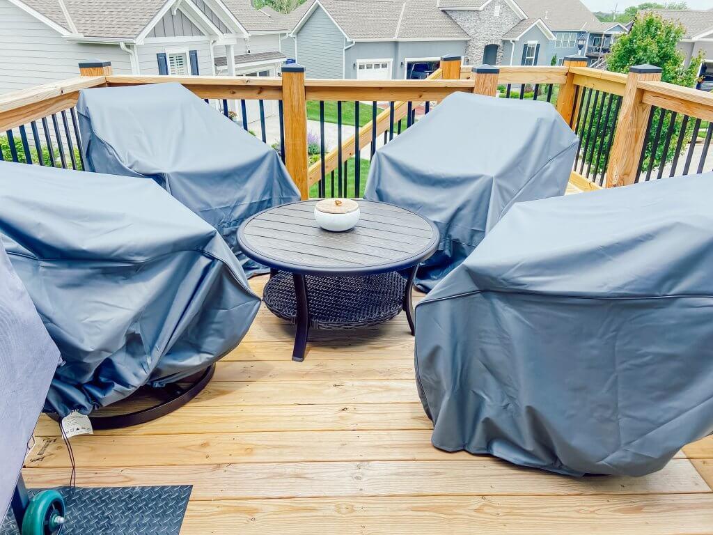 outdoor patio inspiration, furniture