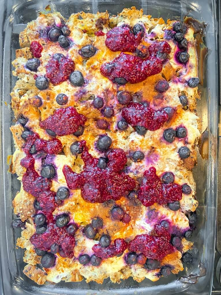 healthy french toast bake recipe steps