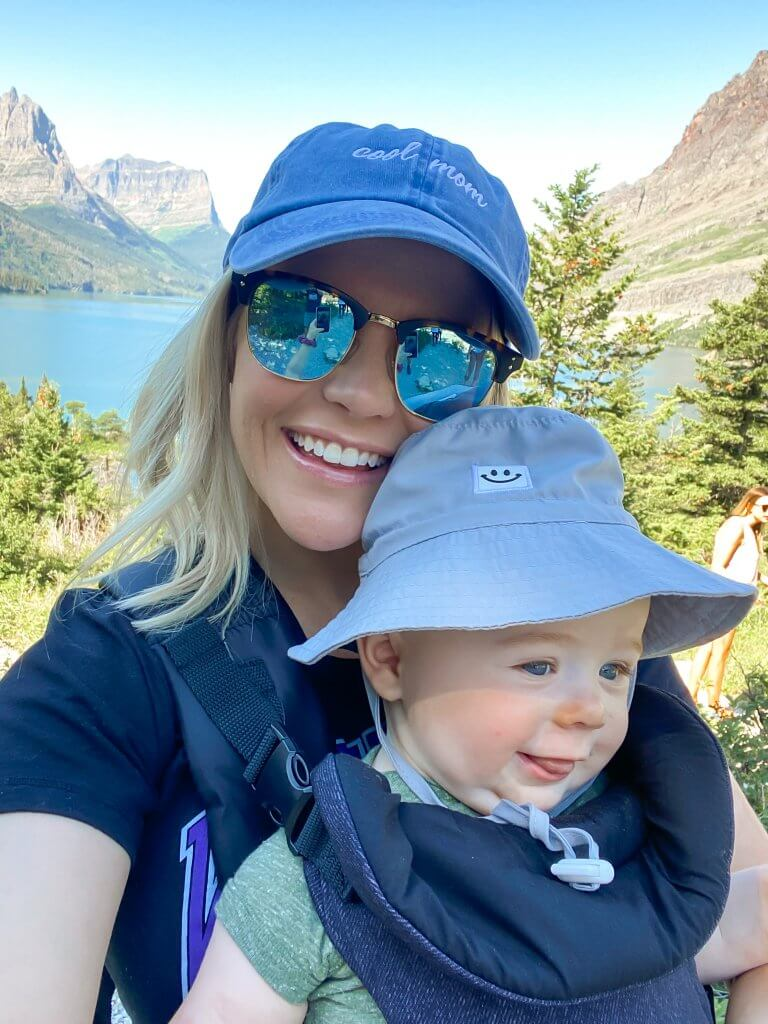 Glacier National Park and Montana Travel Guide; hiking with baby