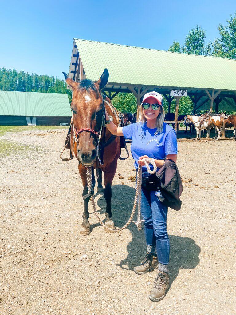 Glacier National Park and Montana Travel Guide; horseback riding