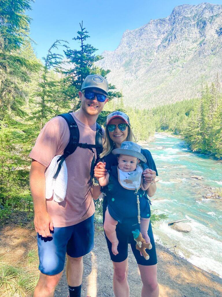 Glacier National Park and Montana Travel Guide; Lake McDonald Falls