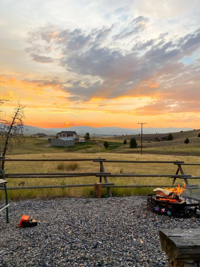 Glacier National Park and Montana Travel Guide; Butte, MT sunset