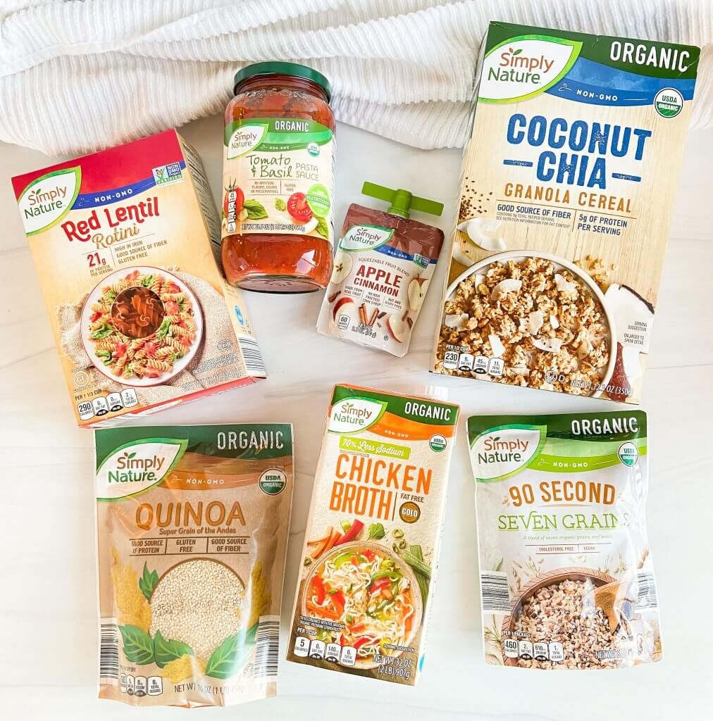ALDI x Good Housekeeping Seal and Nutritionist Approved Emblem Products