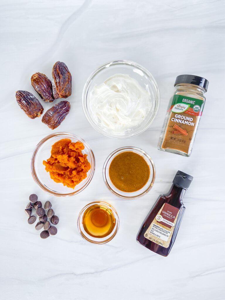 pumpkin butter stuffed dates ingredients