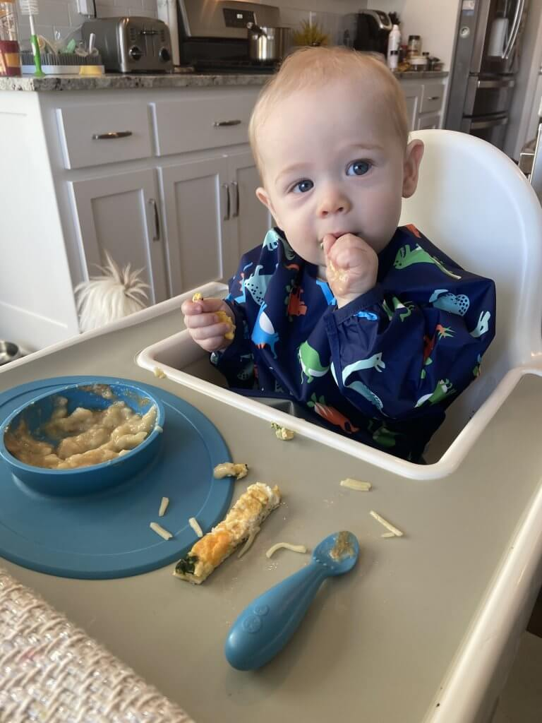 baby led weaning tips and resources ; bibs